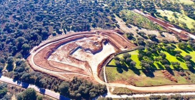 Obras que la empresa Berkeley realiza en el Retortillo (Salamanca). EFE/WWF
