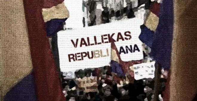 Cartel de la asamblea celebrada por Vallekas Decide. VALLEKAS DECIDE