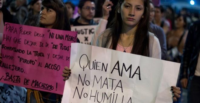Los 24 feminicidios uruguayos de 2016 'pesan' mucho más que los 254 argentinos en números relativos.