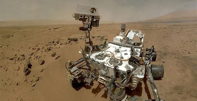 Imagen del robot explorador Curiosity. - EUROPA PRESS
