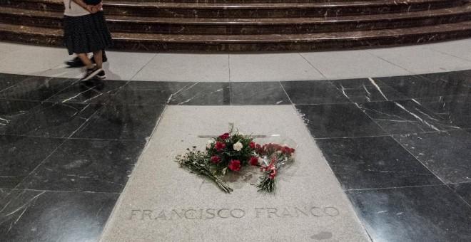 Tumba de Franco en el Valle de los Caídos. / J. GÓMEZ