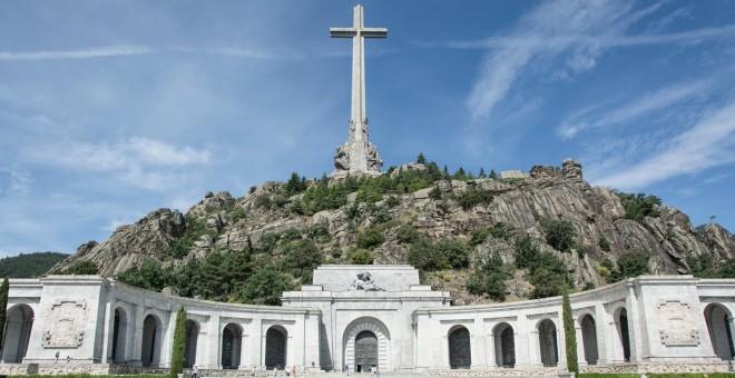 El Valle de los Caídos, donde reposan los restos de Franco. / J. GÓMEZ