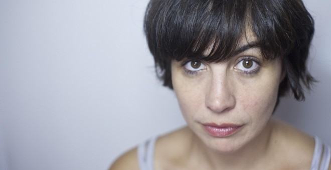 La actriz Iria Pinheiro. / OLAIA SENDÓN