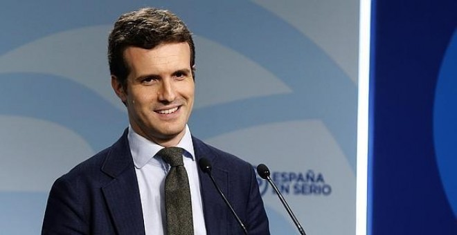 El vicesecretario de Comunicación del PP, Pablo Casado - EFE