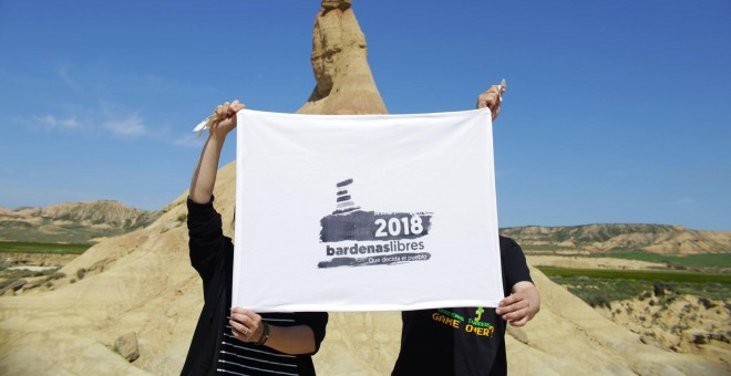 Ejercicio militar reciente - Plataforma Bardenas Libres 2018