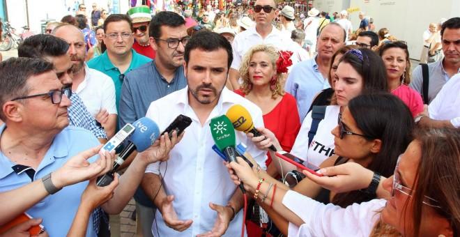 El coordinador federal de Izquierda Unida, Alberto Garzón. / Europa Press