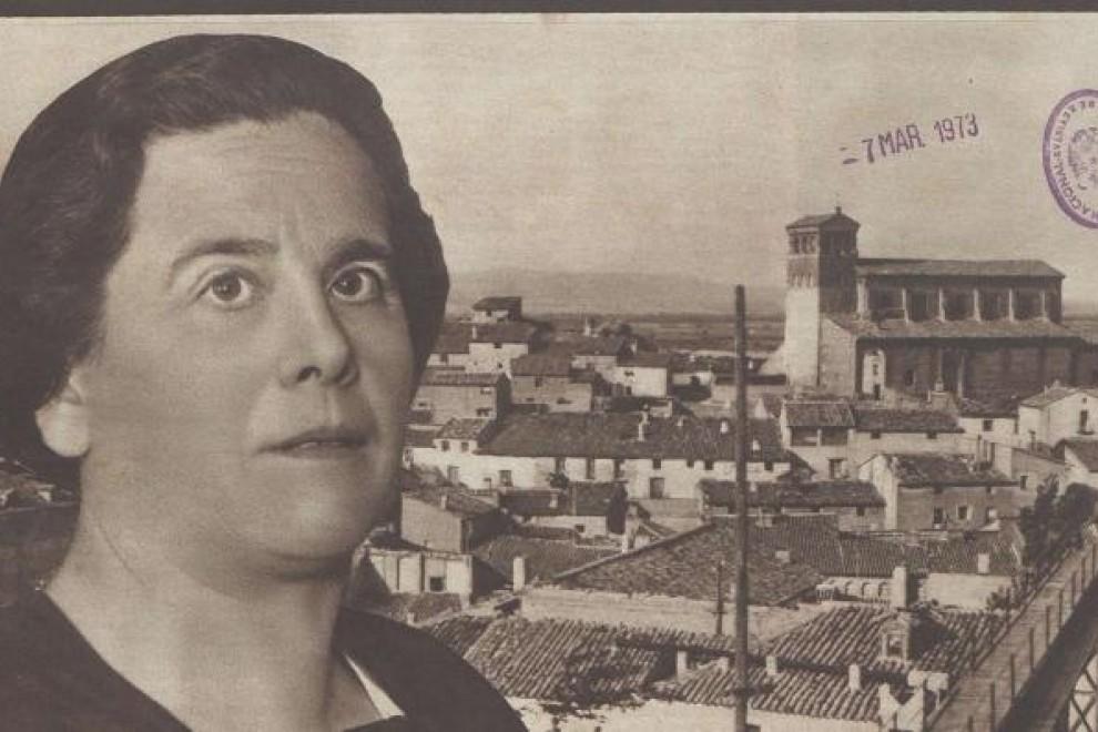 Portada de 'Crónica' de 1932 donde se habla de María Domínguez, la primera alcaldesa republicana