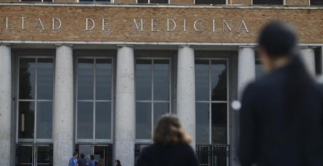 Facultad de medicina de la UCM./EUROPA PRESS
