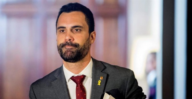 El presidente del Parlament, Roger Torrent. - EFE