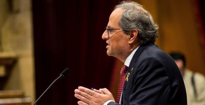 El presidente de la Generalitat, Quim Torra. - EFE