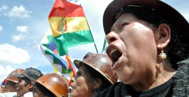 Varias mujeres celebran el Día de la Descolonización en Bolivia.- GOBIERNO DE BOLIVIA