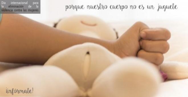 Campaña de El Parto Es Nuestro contra la violencia obstétrica y la maniobra de Kristeller. / XIMENA SILVA
