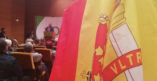 Acto de Vox en Bilbao./Público