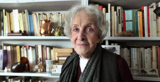 Fotografía de archivo tomada el 5 de septiembre de 2018 de la poeta uruguaya Ida Vitale. (RAÚL MARTÍNEZ | EFE)