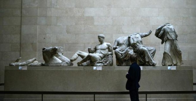 El interior del British Museum. Dylan Martinez/Reuters