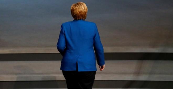 La canciller alemana Angela Merkel.REUTERS/Fabrizio Bensch