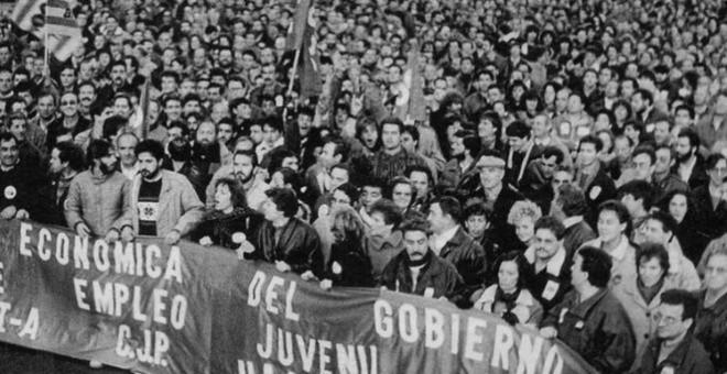 Huelga general del 14D de 1988 | EFE
