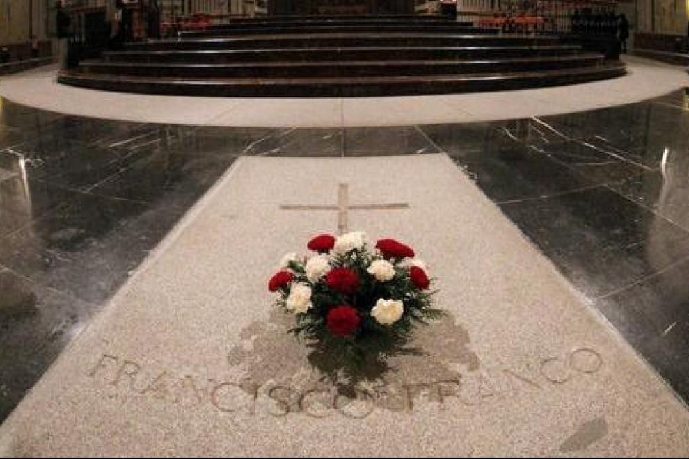 La tumba de Francisco Franco en la Basílica del Valle de los Caídos | EFE