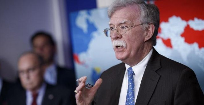 John Bolton, asesor en materia de seguridad de John Bolton.- EFE