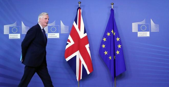 El negociador de la UE para el brexit, Michel Barnier, en la sede de la Comisión Europea, en Bruselas. REUTERS/Yves Herman