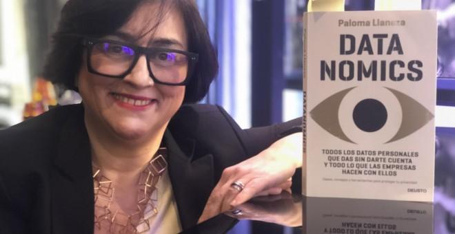 Paloma Llaneza presenta su libro 'Datanomics', de la Editorial Deusto (Planeta). PÚBLICO