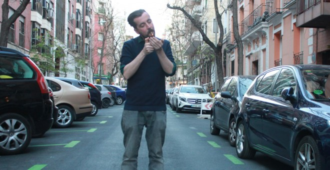Jordi Navarro Garcia, autor de 'Madrit'. M. F.