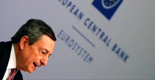 24/01/2019-  Mario Draghi, presidente del Banco Central Europeo. / REUTERS