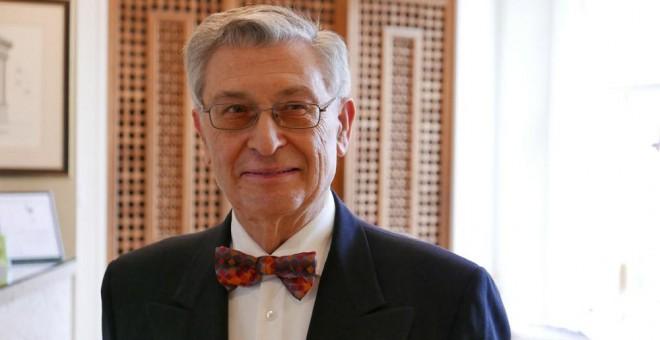 El economista, diplomático e historiador Ángel Viñas.-