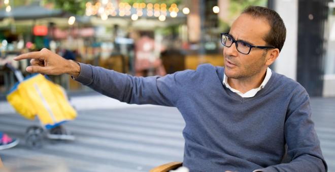 David Jiménez, autor del libro 'El director', sobre su experiencia en 'El Mundo'. / CHRISTIAN GONZÁLEZ