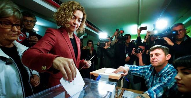 La candidata del PSC a las elecciones generales por Barcelona, Meritxell Batet.- EFE