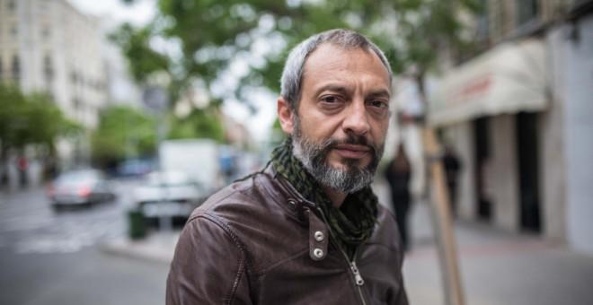 El periodista italiano Giampaolo Musumeci, coautor de 'Confesiones de un traficante de personas'.- JAIRO VARGAS