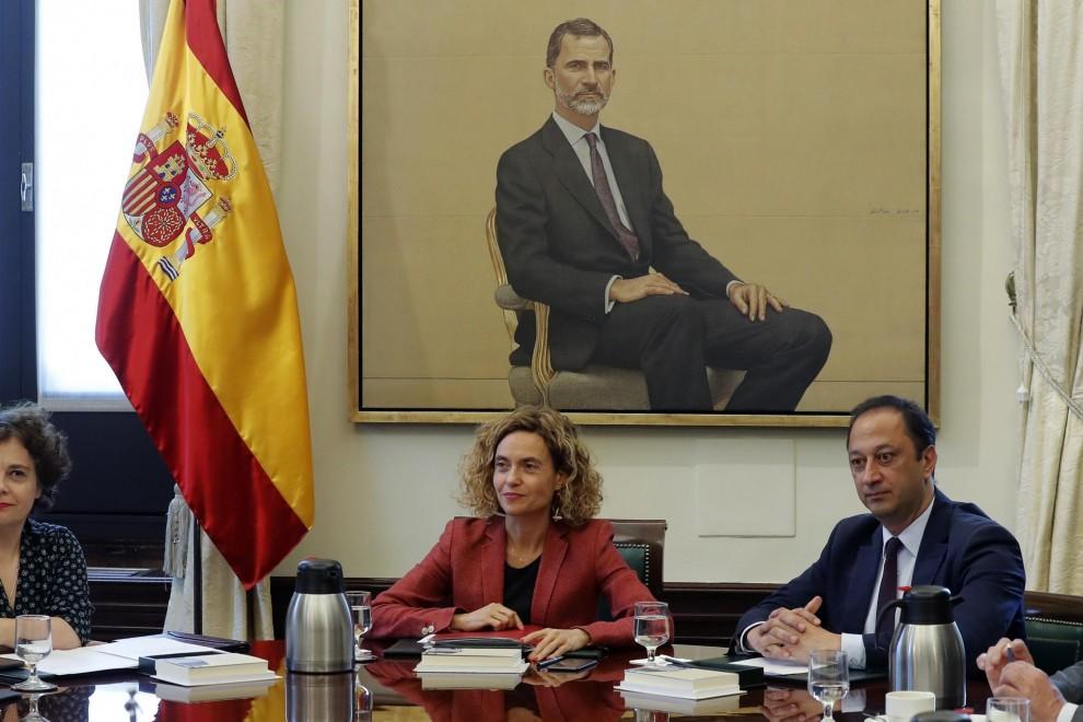 La Mesa del Congreso. /EFE