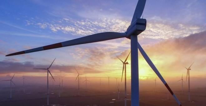 Energía eólica. EFE
