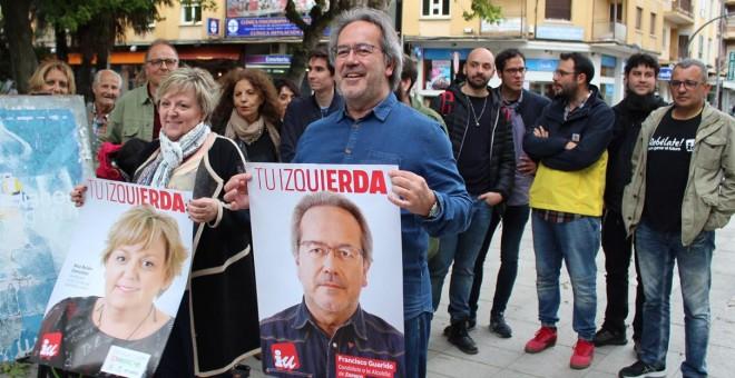 Paco Guarido, en el inicio de la campaña de las elecciones municipales del 26-M.