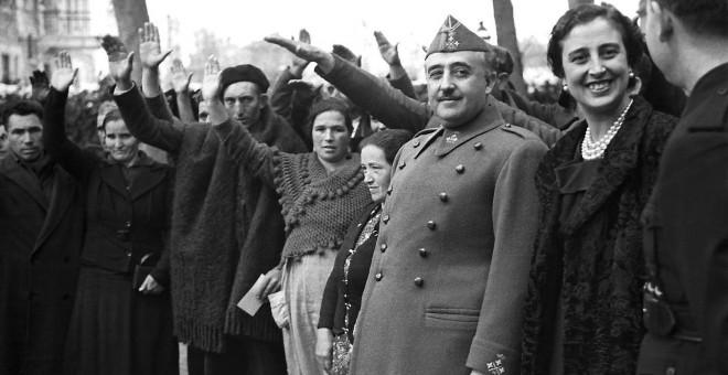 El dictador Francisco Franco en una imagen de marzo de 1939. EFE
