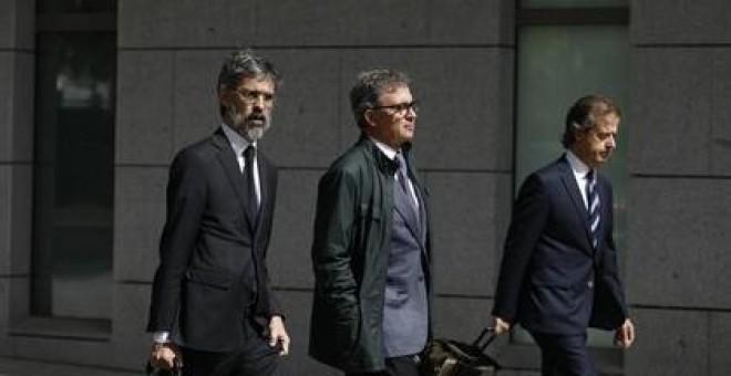 Jordi Pujol Ferrusola llega a la Audiencia Nacional para declarar. Europa Press
