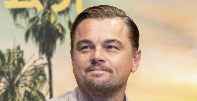 """L'acteur Leonardo DiCaprio lors de la présentation de """"Il était une fois à Hollywood"""" à Tokyo.  / Europa Press"""