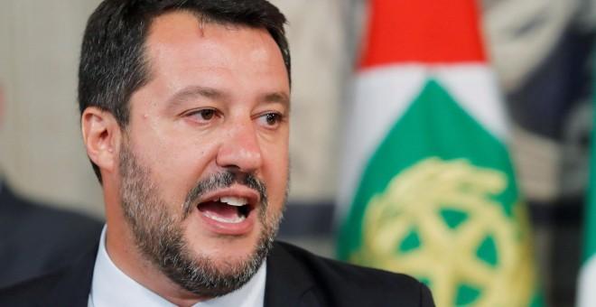 El líder del partido Liga Norte, Mateo Salvini. / Reuters