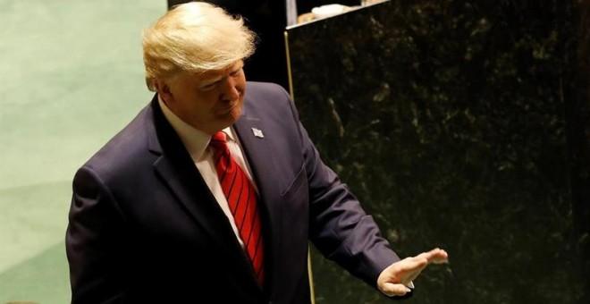 El presidente de Estados Unidos, Donald Trump. - EFE