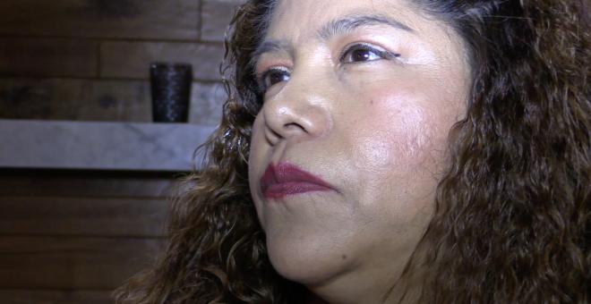 Desde 2001, la mexicana Flor Molina se ha convertido en una de las voces más reconocidas en contra de la esclavitud laboral y la trata humana en Estados Unidos y México./Aitana Vargas (2018)