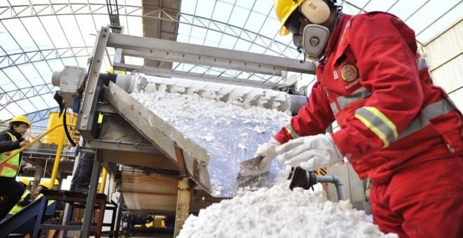 Bolivia tiene más del 40% de las reservas mundiales de litio. AFP / Aizar Raldes