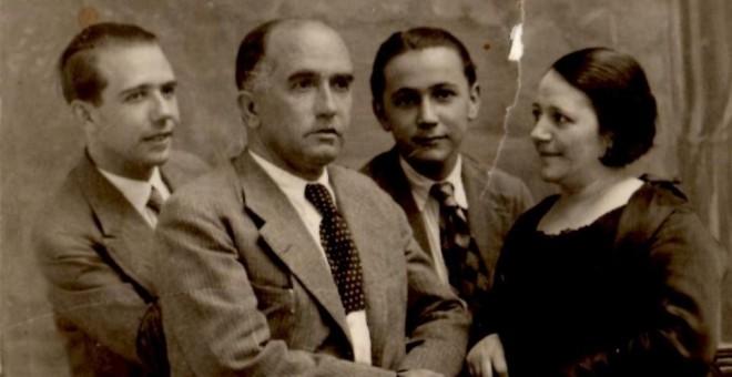 Familia Jiménez Tovar. El padre médico y su hijo, practicante, ambos fusilados.