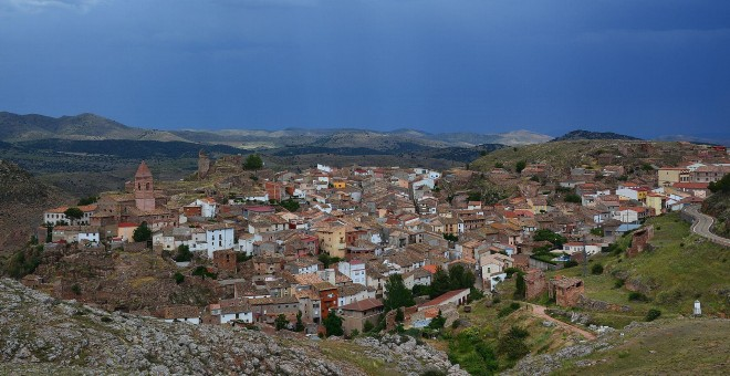 Vista de Aranda de Moncayo. WIKIPEDIA