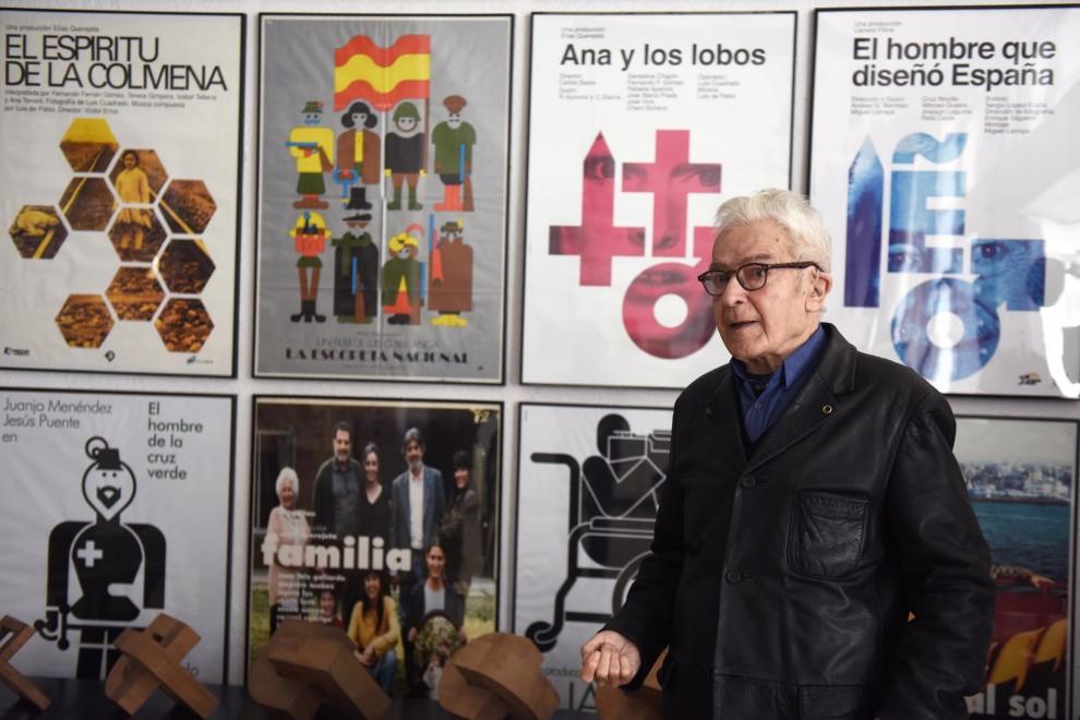 El diseñador José María Cruz Novillo. / FERNANDO SÁNCHEZ