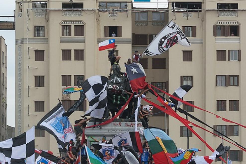 Protestas en Chile el pasado 25 de octubre. – Carlos Figueroa (CC BY-SA 4.0)
