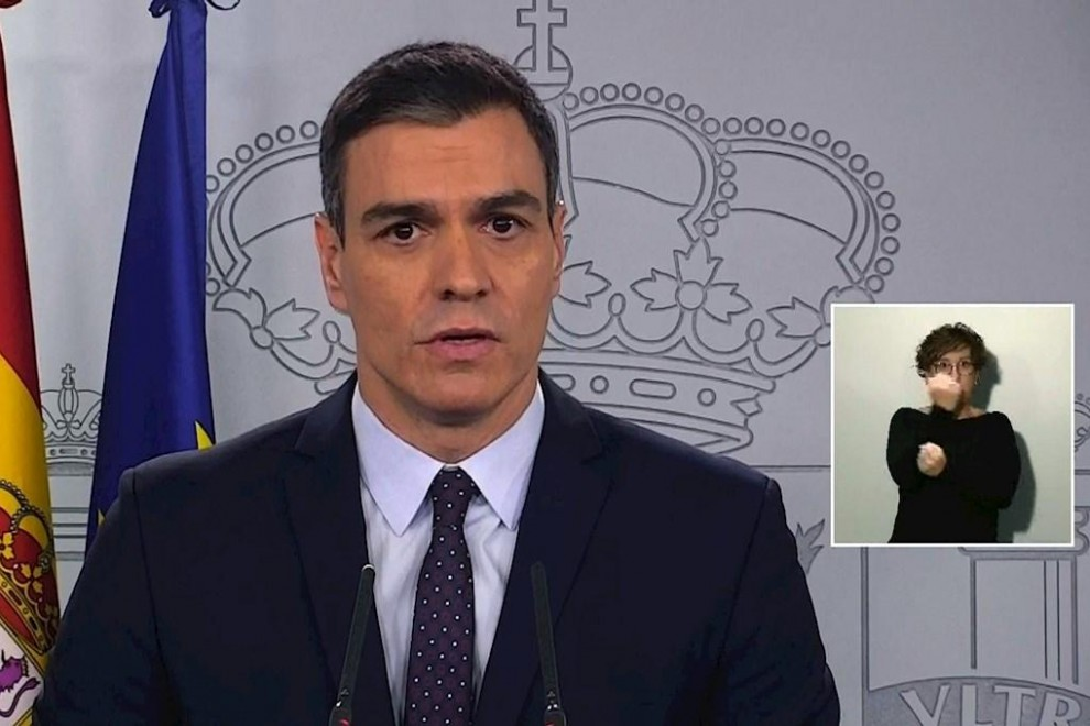 Sánchez en video