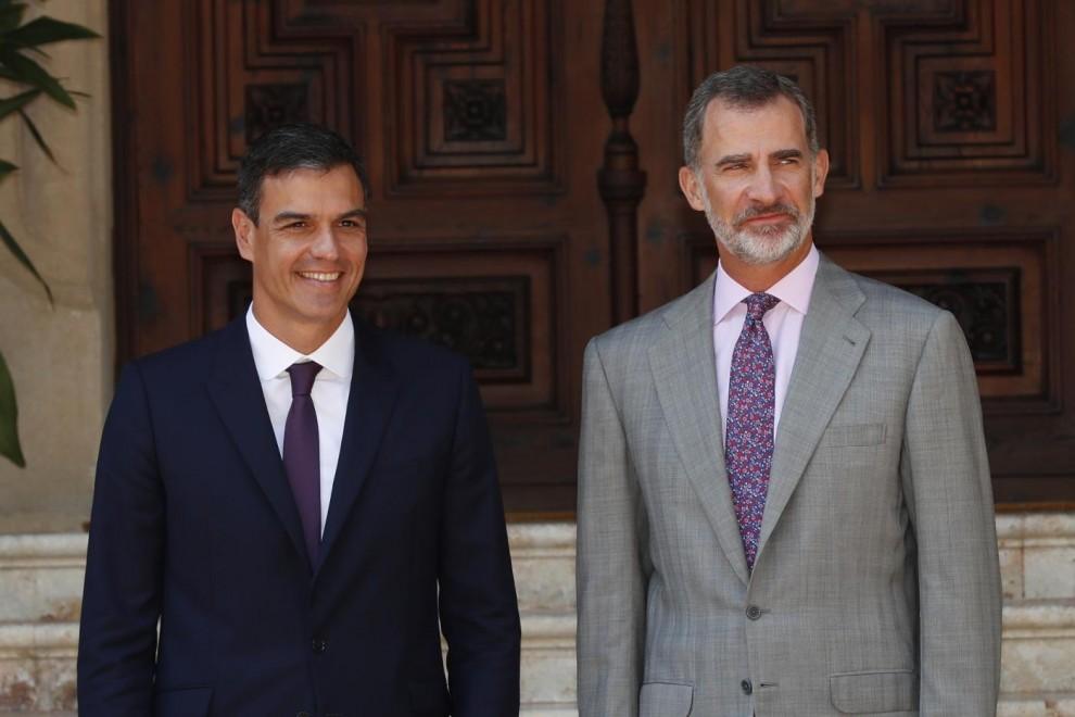 Rey con Sánchez