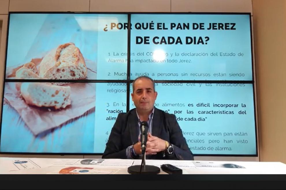 Antonio Saldaña, portavoz del PP de Jerez.