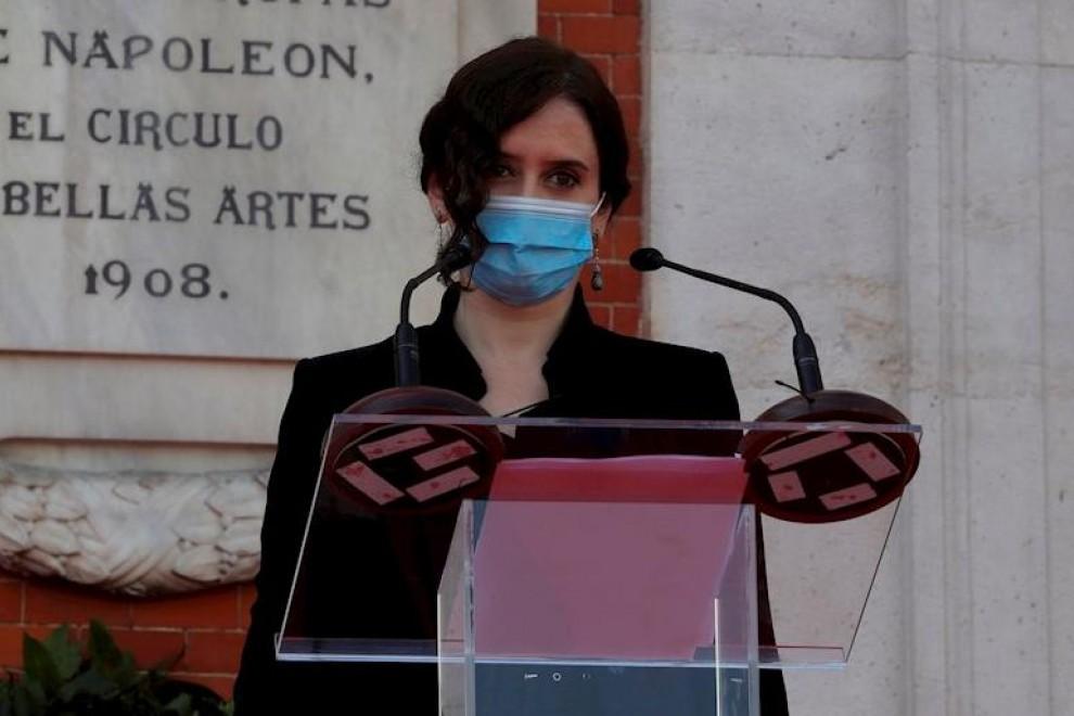 La presidenta de la Comunidad de Madrid, Isabel Díaz Ayuso. EFE/JuanJo Martín/Archivo