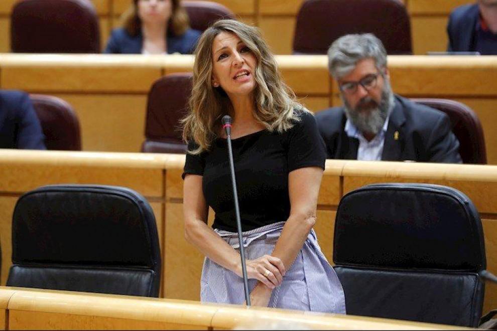 """""""¿Y esta mujer no podría ser presidenta del Gobierno? Yo la veo preparadísima"""": el enésimo repaso de Yolanda Díaz a un político del PP"""